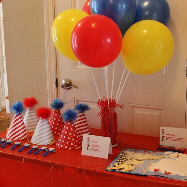Images about balloon stick centerpiece on pinterest